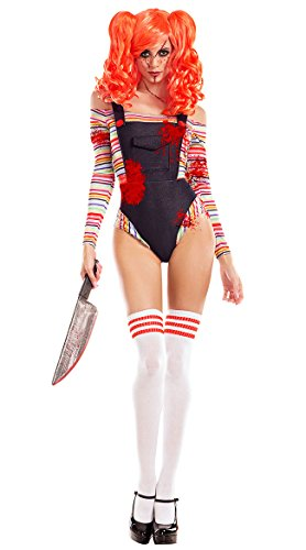 The Chucky Costume Doll (Killer Doll Costume, Sexy Killer Doll)