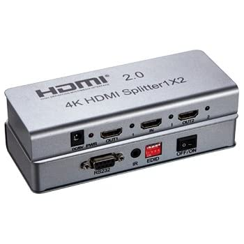 how to connect hdmi splitter to tv