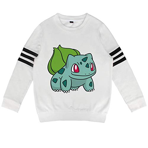 Shihangya Children Pokemon-Pikachu-Character-Bulbasaur- Kid Cotton Hoodies Hooded Sweatshirts