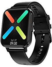 Smart Watch for Android Phone and IOS Phones for Men Women, Fitness Tracker with Heart Rate Monitor and Sleep Monitor IP68 Waterproof Smartwatch with Step Counter