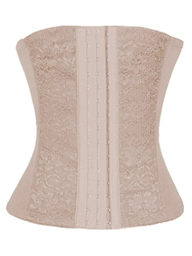 V28Perfect Waist Firm Compression Waist Cincher Miracle Instant-slimmer Shapewear (6xl, anotherbeige)