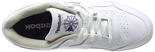 White Ginnastica Scarpe Uomo Workout Royal Plus Reebok da Bianco wq0U1I