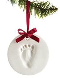 Baby Handprint Or Footprint Ornament Kit, Makes A Great Holiday Gift And Keepsake BOBEBE Online Baby Store From New York to Miami and Los Angeles