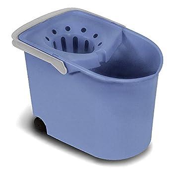 Tatay 1103200 Cubo de Fregar con escurridor y con Ruedas, Azul, 25.50x38.20x28.00 cm: Amazon.es: Hogar