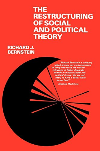 The Restructuring of Social and Political Theory