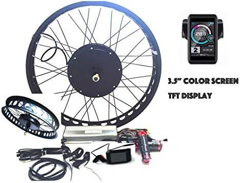 theebikemotor 3000W Hub Motor Bicicleta eléctrica Kit de ...