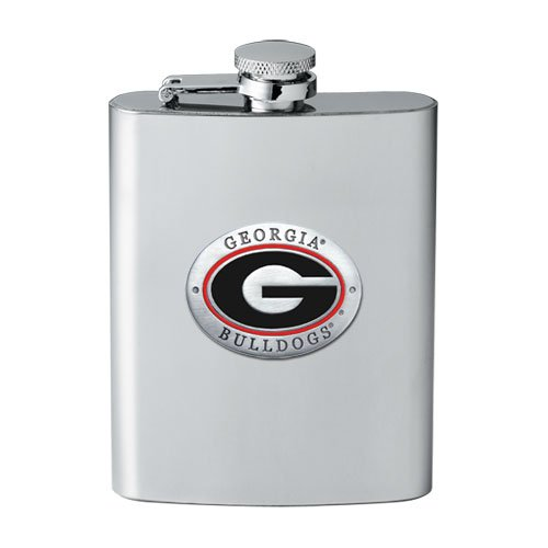 University of Georgia Bulldogs Flask