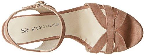 STUDIO PALOMA 19810 - Sandalias de vestir Mujer Beige - Beige (Ante 982)