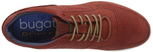 Bugatti K19015, Zapatillas para Hombre Rojo (Rot 300)