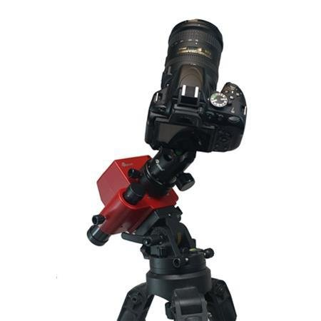 iOptron SkyTracker Pro Camera Mount with Polar Scope, Mount Only - Bundle with Camera Tripod