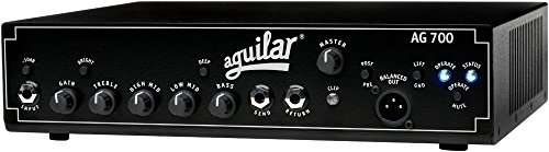 700 Bass Amp Head (Aguilar AG 700 - 700-watt Super Light Bass Head)