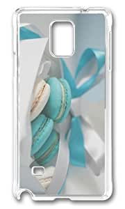 Adorable cream cookies Hard Case Protective Shell Cell Phone Samsung Galaxy Note2 N7100/N7102 - PC Transparent WANGJING JINDA