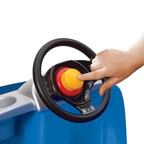 41ZD9MKdOkL - Step2 Whisper Ride II Ride On Push Car, Blue