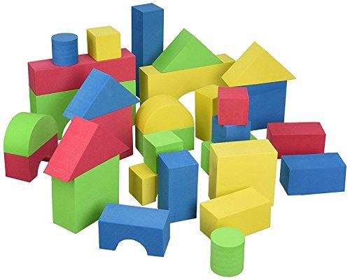 Edushape Educolor Blocks - Edushape Educolor Building Blocks, 60 Piece w Storage/Travel Bag