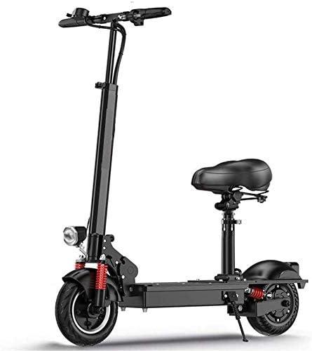 TTMM Bicicleta eléctrica Patinete Eléctrico Ligero Plegable con ...