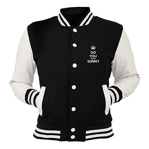 Some Do T College shirtshock Giacca Want Nera Tkc3635 You qZZ84Xwxp