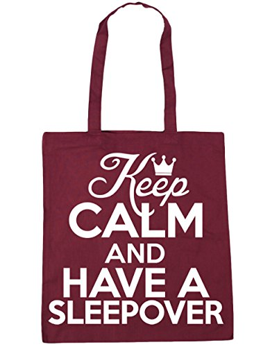 litres sleepover 42cm x38cm Gym Beach HippoWarehouse Keep Burgundy have Bag Shopping and a 10 Tote calm 76P7X