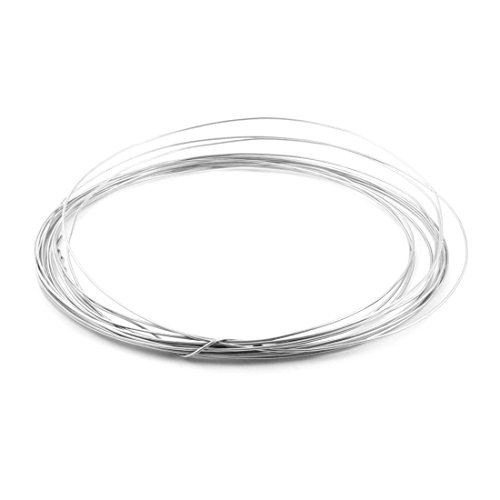 25Ft 1.2mm Dia AWG17 Nichrome Resistance Heating Coils Resistor Wire