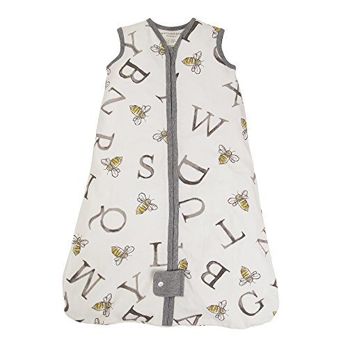 Burt's Bees Baby Beekeeper Wearable Blanket, 100% Organic Cotton, A Bee C Cloud (Medium) from Burt's Bees Baby