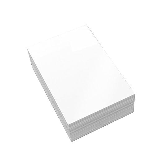 JWBOSS A4 papel fotográfico satinado A4 papel fotográfico de peso ...
