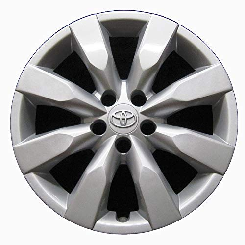 Genuine OEM Hubcap | Fits 2014-2016 Toyota Corolla | Professionally Reconditioned Like-New | 16-inch Factory Replacement Wheel Cover | 61172 (Toyota Corolla Rims 16)