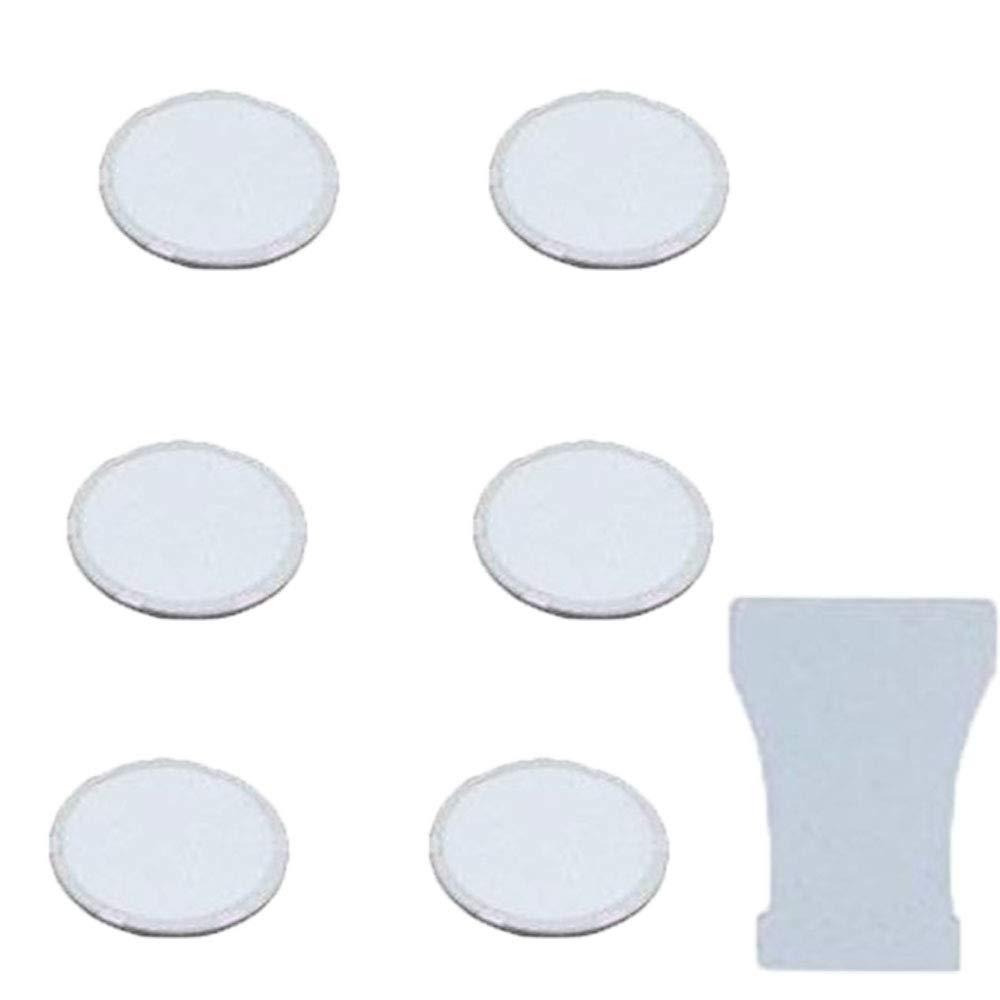 HRTELEC Disques de brumisateur /à ultrasons en c/éramique 16 mm pour pi/èces dhumidificateur avec Outil de Remplacement