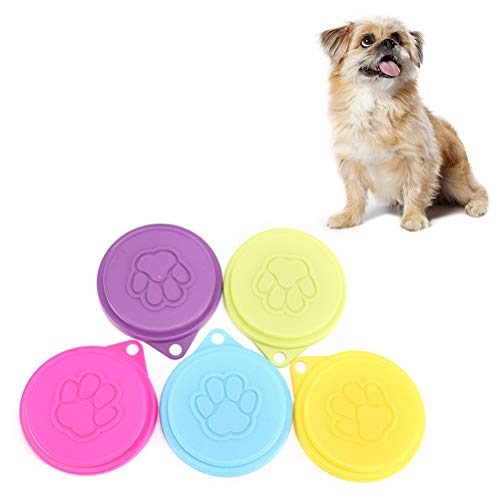 Can Cover - 8.8cm Plastic Pet Food Can Cover Lid Dog Cat Tin Reusable Storage Cap - Pink Hook Truck Harness Food Under Dress Sunglasses Bulk Toys Large Camping Shoes Dogs Female Jeep Birthday Cl
