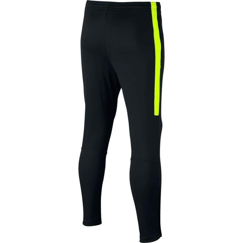 Nike Y NK Dry ACDMY KPZ Pantalón, Unisex niños, Negro (Black/Volt ...