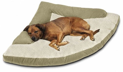 Corner Dog Bed With Bolster