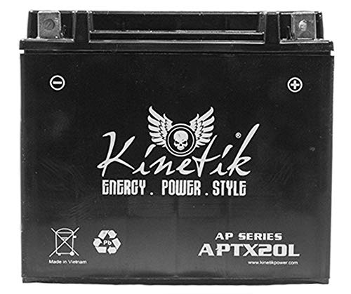 Kinetik 12V 18AH REPLACEMENT BATTERY FOR KAWASAKI KZ1000-E ST,SHAFT 1979-1980