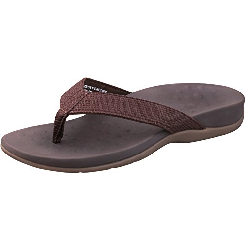 d86f9a2d0650 Sessom Co Women s Orthotic Sandals with Arch Support for Plantar Fasciitis  Stylish Beach Flip Flops Outdoor Toe
