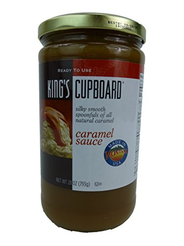 King's Cupboard All Natural Caramel Sauce 28 Ounce ()