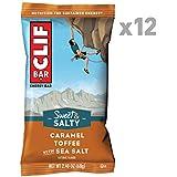 CLIF BAR - Sweet & Salty Energy Bar - Caramel Toffee Flavor with Sea Salt - (2.4 Ounce Protein Bar, 12 Count)