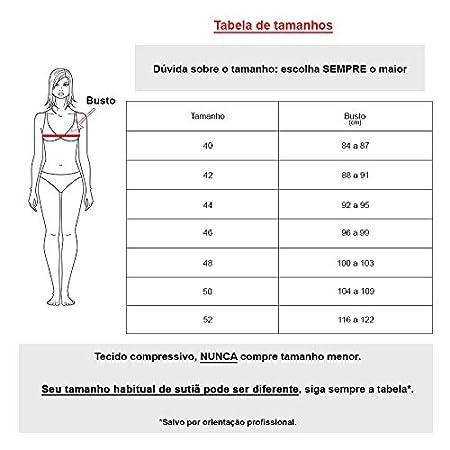 21b62db9f Sutiã Pós Mastectomia com Suporte para Prótese (Chocolate Preto