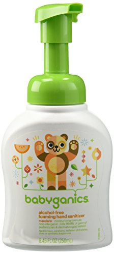 Babyganics Alcohol Free Foaming Hand Sanitizer - Mandarin - 8.45 oz