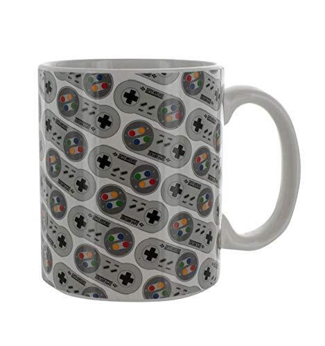 (Paladone SNES Controller Ceramic Coffee Mug 10oz)
