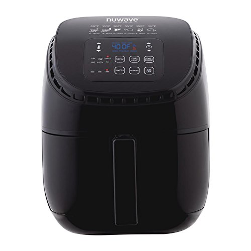 NuWave 36011 3-Qt. Brio Air Fryer, Black