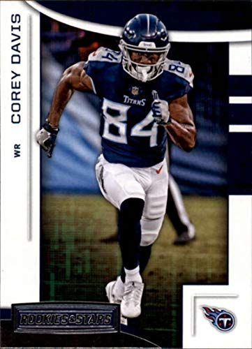 2018 Panini Rookies and Stars #87 Corey Davis NM-MT Tennessee Titans Official NFL Football Card - Nfl Bowman Chrome Trading Cards