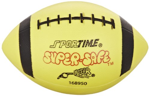 Sportime Super-Safe Youth Football, Yellow and -