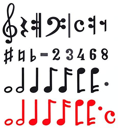 Betzold 84632 Magnetic Musical Notation by Betzold (Image #2)