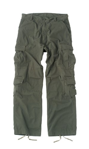 Rothco Olive Drab Vintage Paratrooper Fatigues (X-Large)