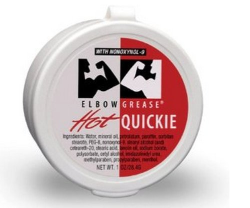 Elbow Grease Hot Quickies Cream Oil-based Lube Personal Sex Anal Lubricant 1 (Sex Grease)