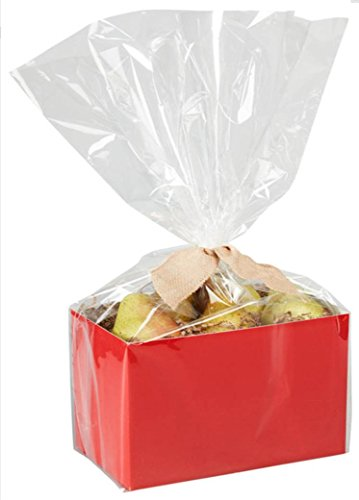 "20"" x 30"" Large Cello Bags for Large Basket Boxes for Bakery"