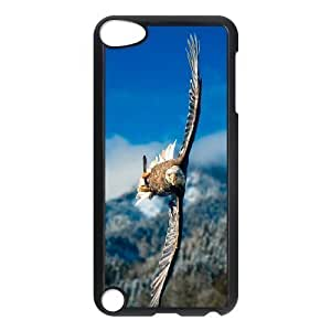 Bald Eagle Use Your Own Image Phone Case for Ipod Touch 5,customized case cover ygtg578490