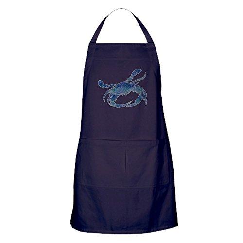 CafePress Chesapeake Bay Blue Crab Apron (Dark) Kitchen Apron with Pockets, Grilling Apron, Baking Apron (Crabs Blue Chesapeake)