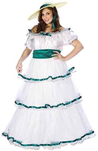 Women's Southern Belle Outfit Fancy Dress Halloween Plus