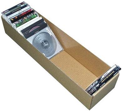 Caja DE Carton para 50 CD Compact Disc - Ref.2067: Amazon.es: Electrónica
