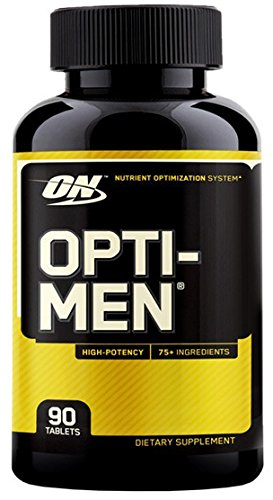 Optimum Nutrition Opti-Men Multivitamins, 90 Tablets