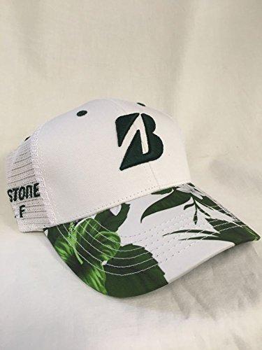新しい2018ブリヂストンゴルフLuauシリーズホワイト/フォレストスナップバック調整可能な帽子/キャップ
