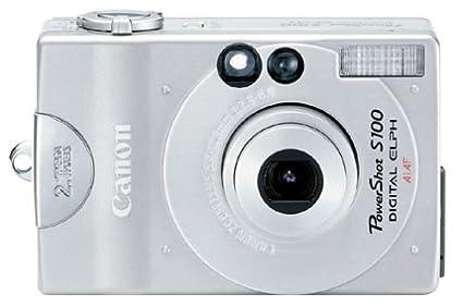 amazon com canon powershot s100 2mp digital elph camera kit with rh amazon com